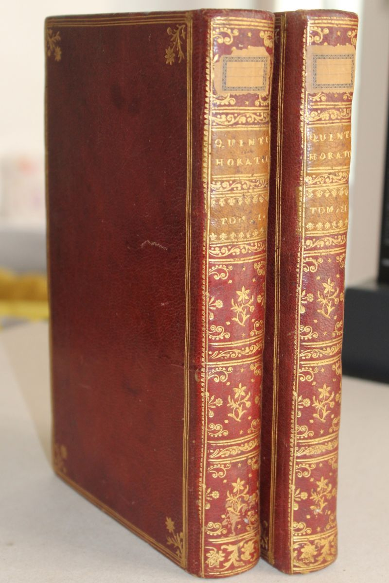 Quinti Horatii Flacci. Opera / First Pine edition